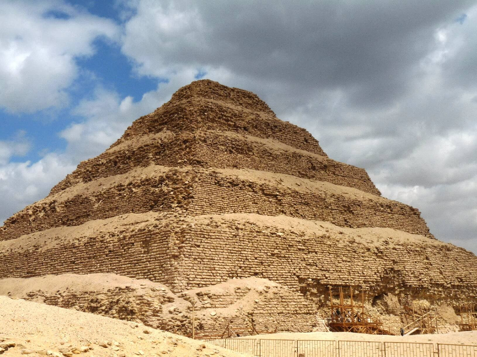 Zoser,owner of the oldest pyramid