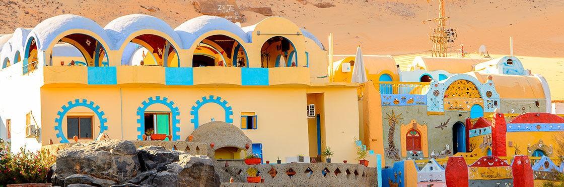 The Nubian Village Of Aswan: A Rainbow Along The Nile