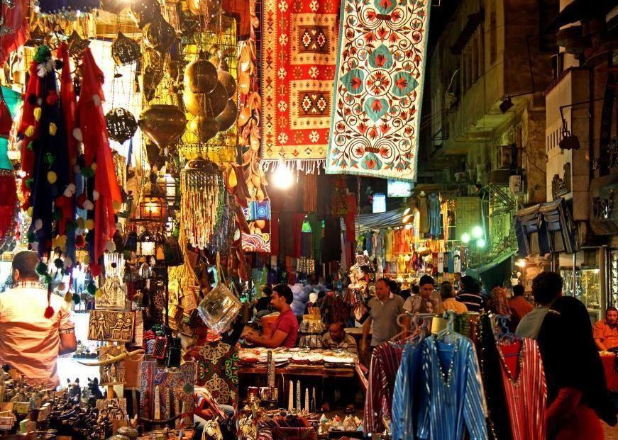 Khan el khalili Shopping tour in Egypt