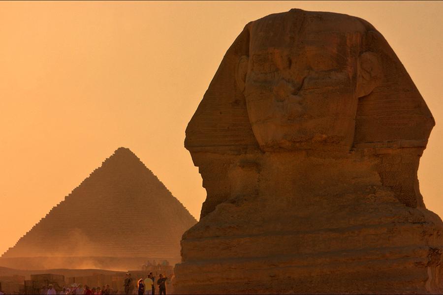 Giza pyramids, Cairo and Dahabiya Nile Cruise