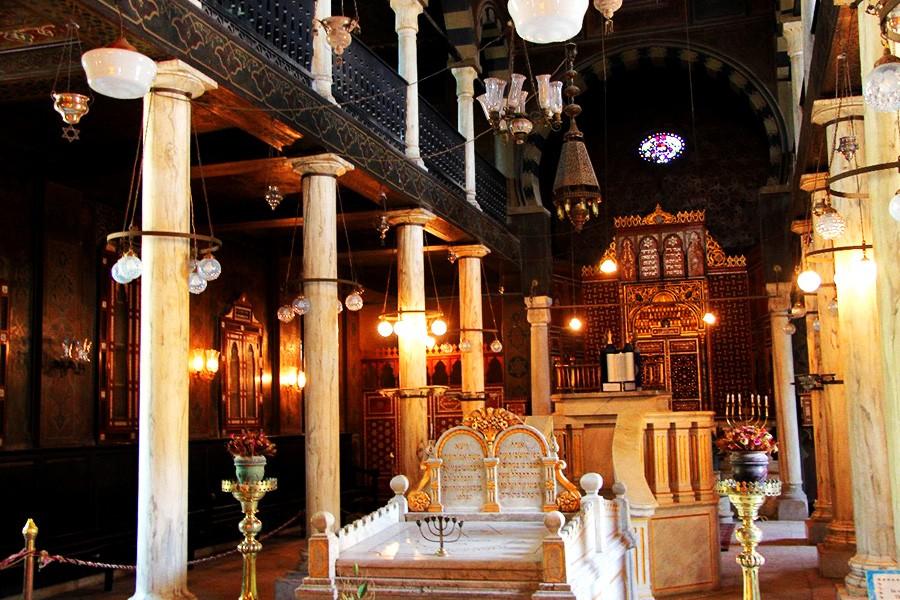 the Coptic area of Cairo