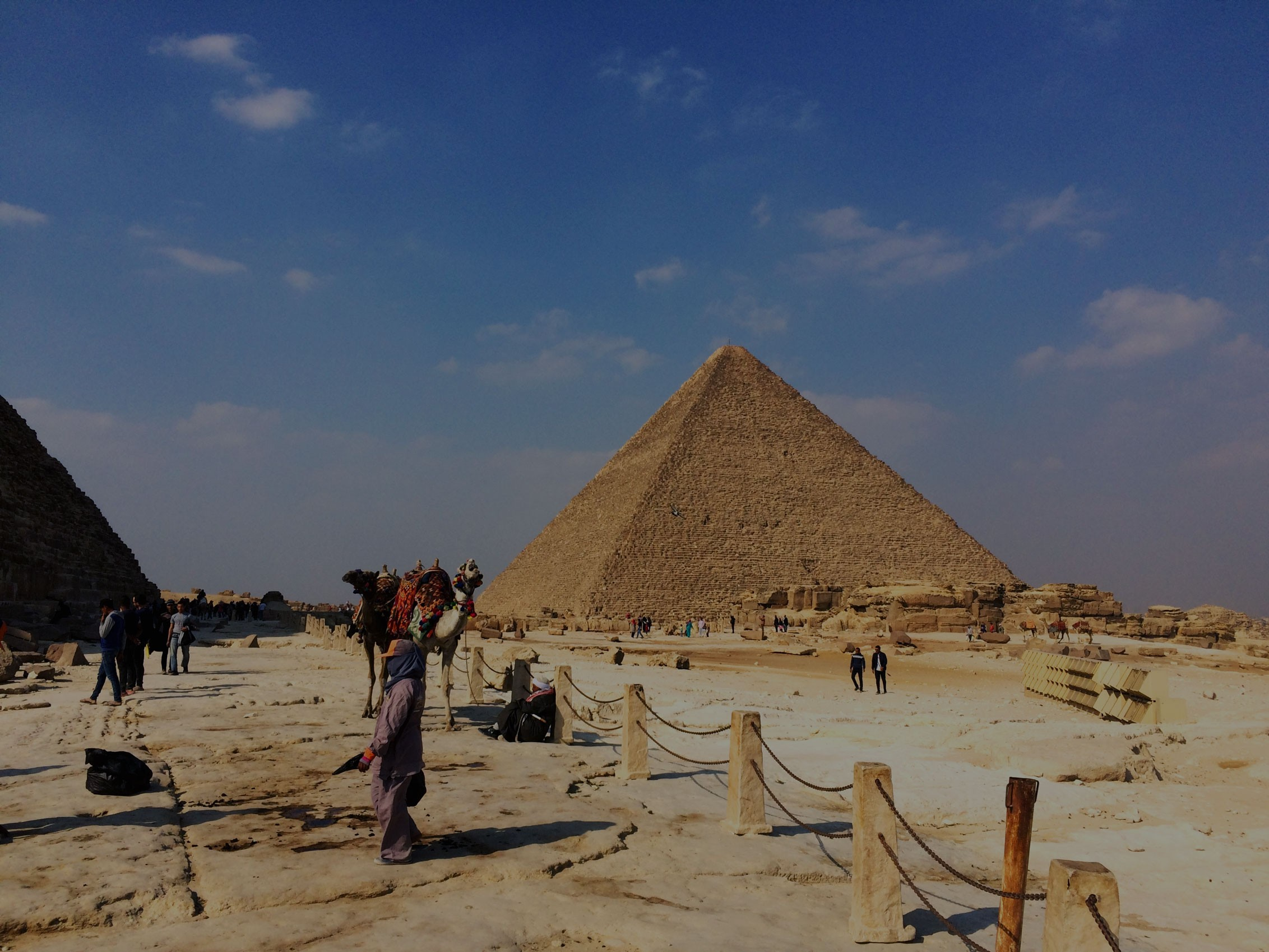 Giza Pyramids Sphinx and Sakkara Day Tour