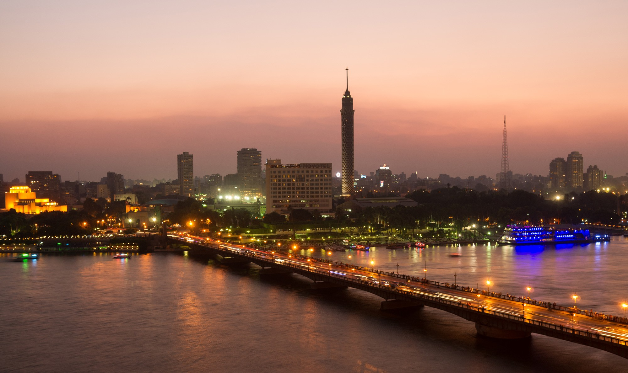 Cairo Top Sites In Two Days From Port Suez