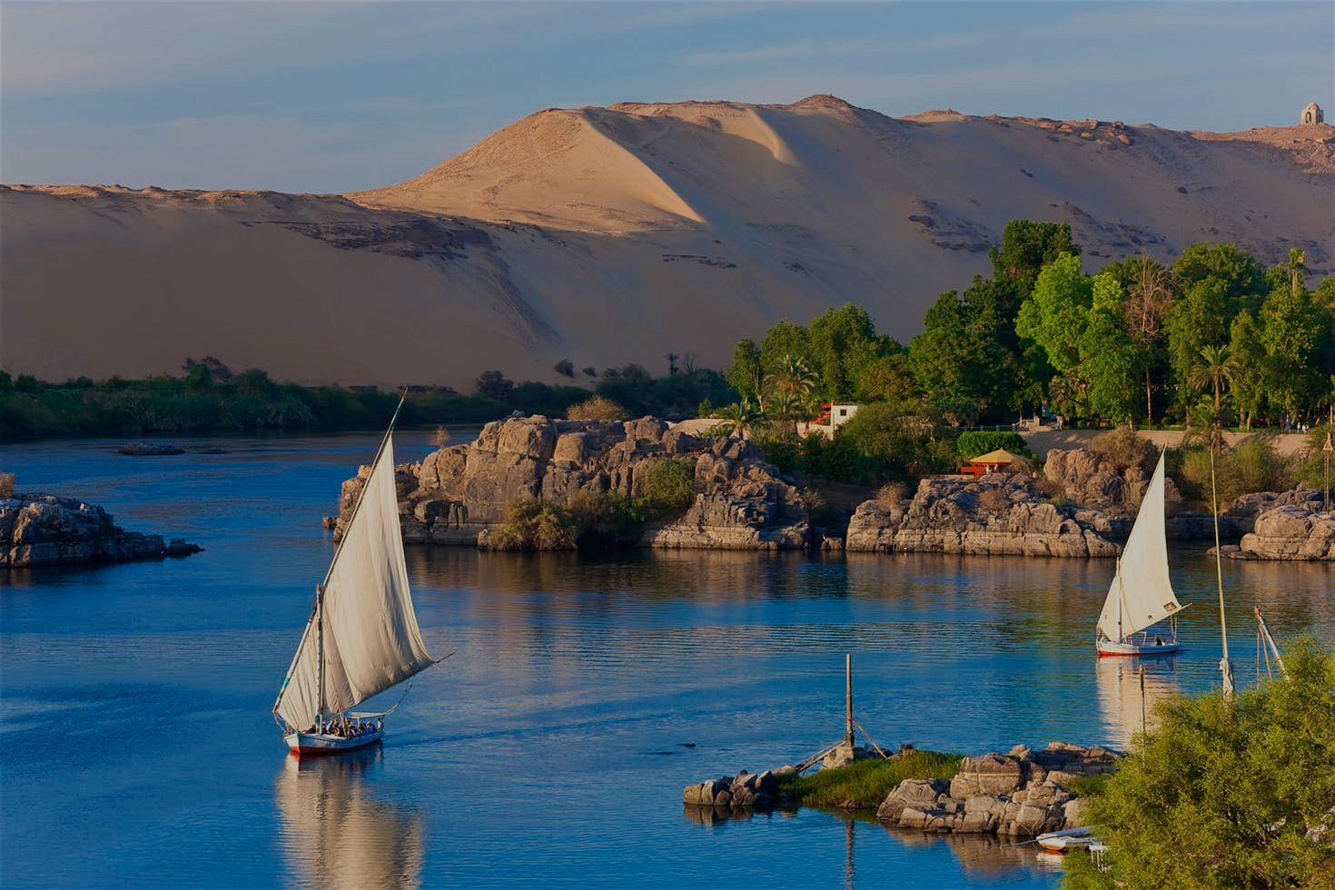 Private SailBoat from Aswan to Botanic Gardens