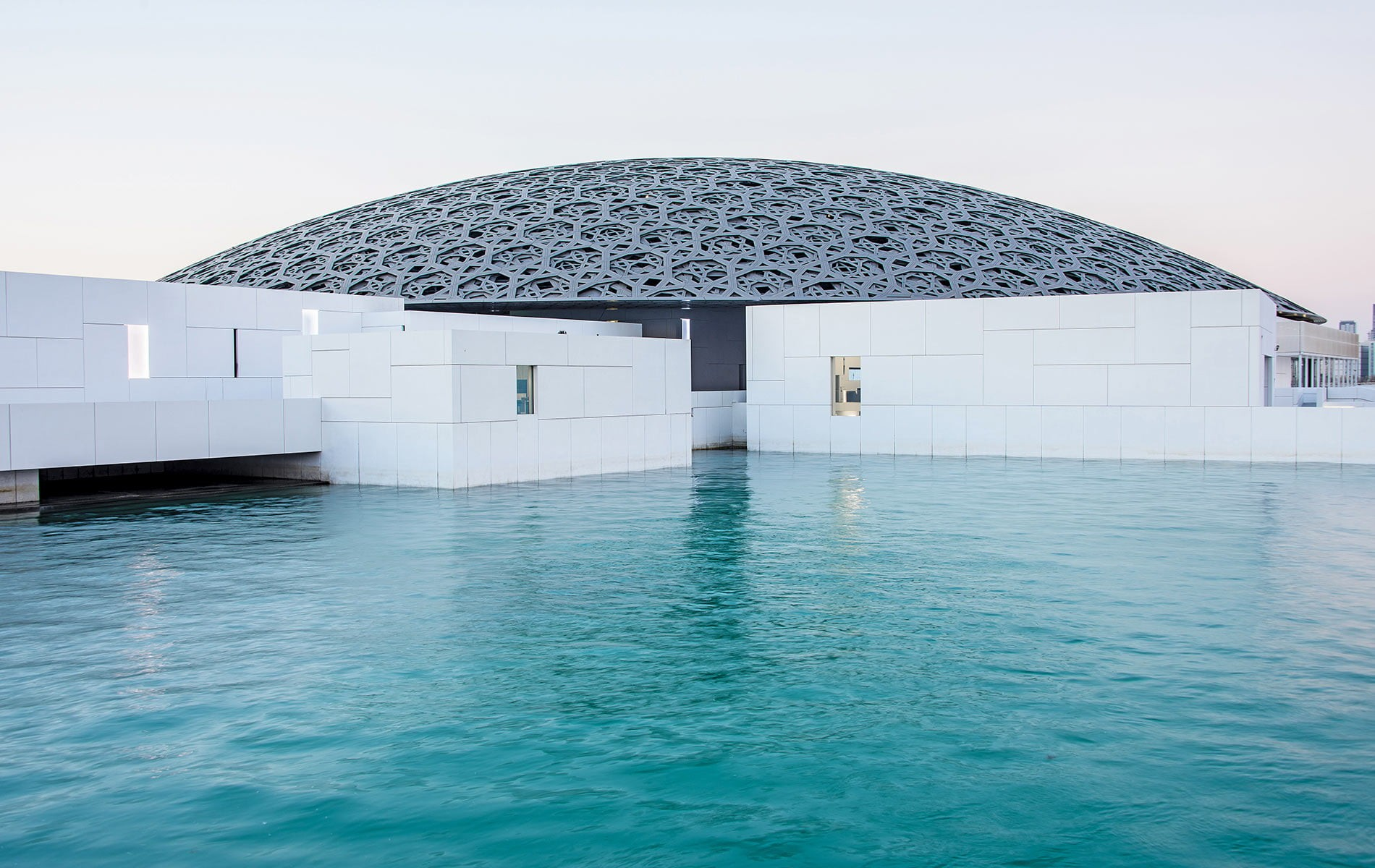 Abu Dhabi With Louver Museum