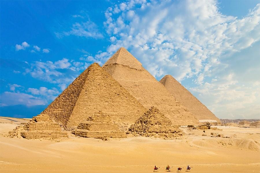 Giza Pyramids,