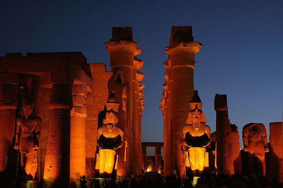 Karnak temple, Sound and light show