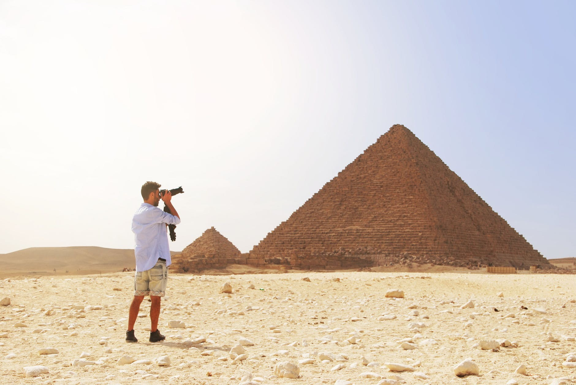 Giza Pyramids Sphinx , Sakkara And Memphis Day Tour