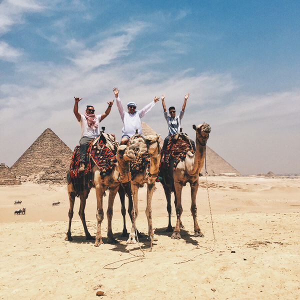 Adventures with The Pharaohs Family Tour