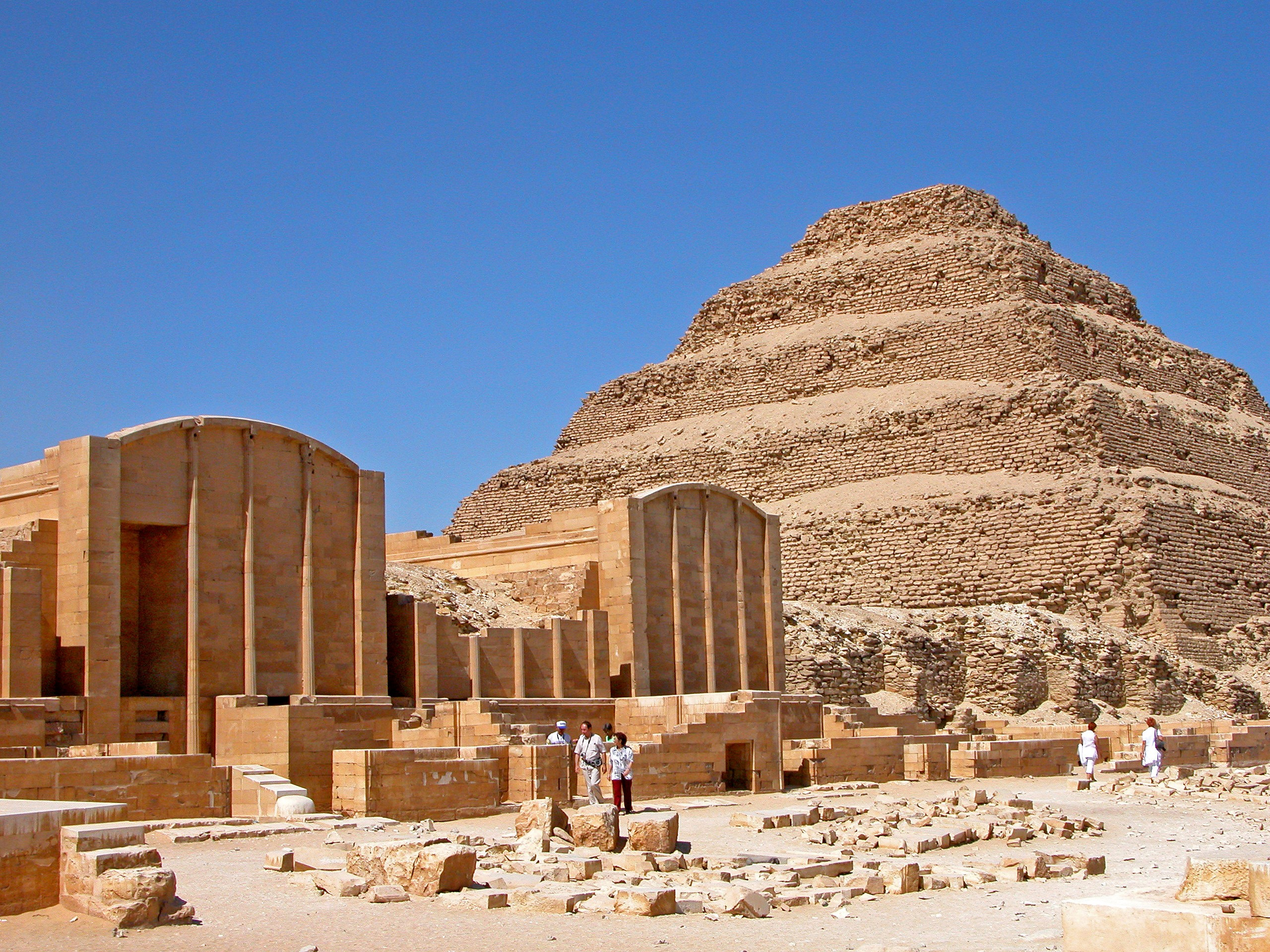 The Step Pyramid, Cairo - Sharm El Sheikh