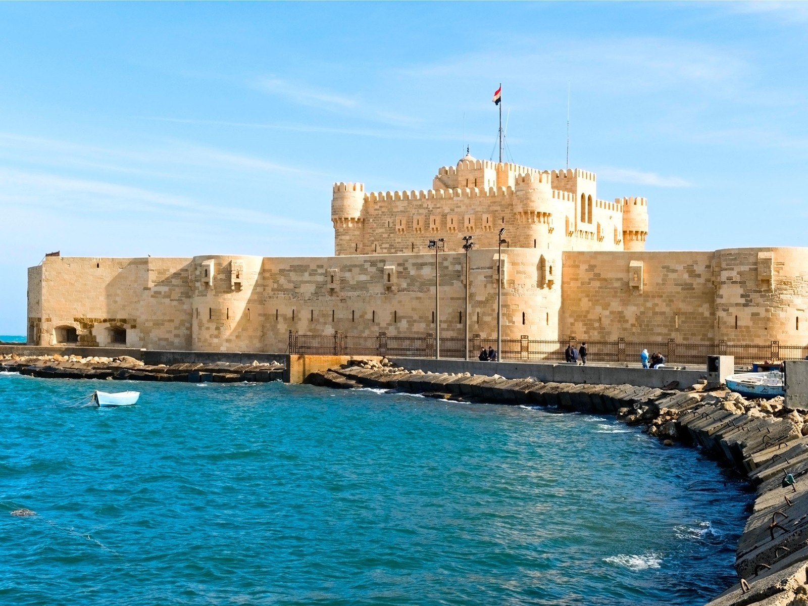 fort of Qaitbay,  Cairo and Alexandria Tour from Taba