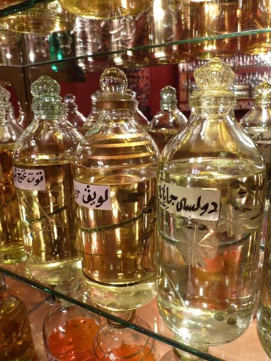 Egyptian oils and perfume