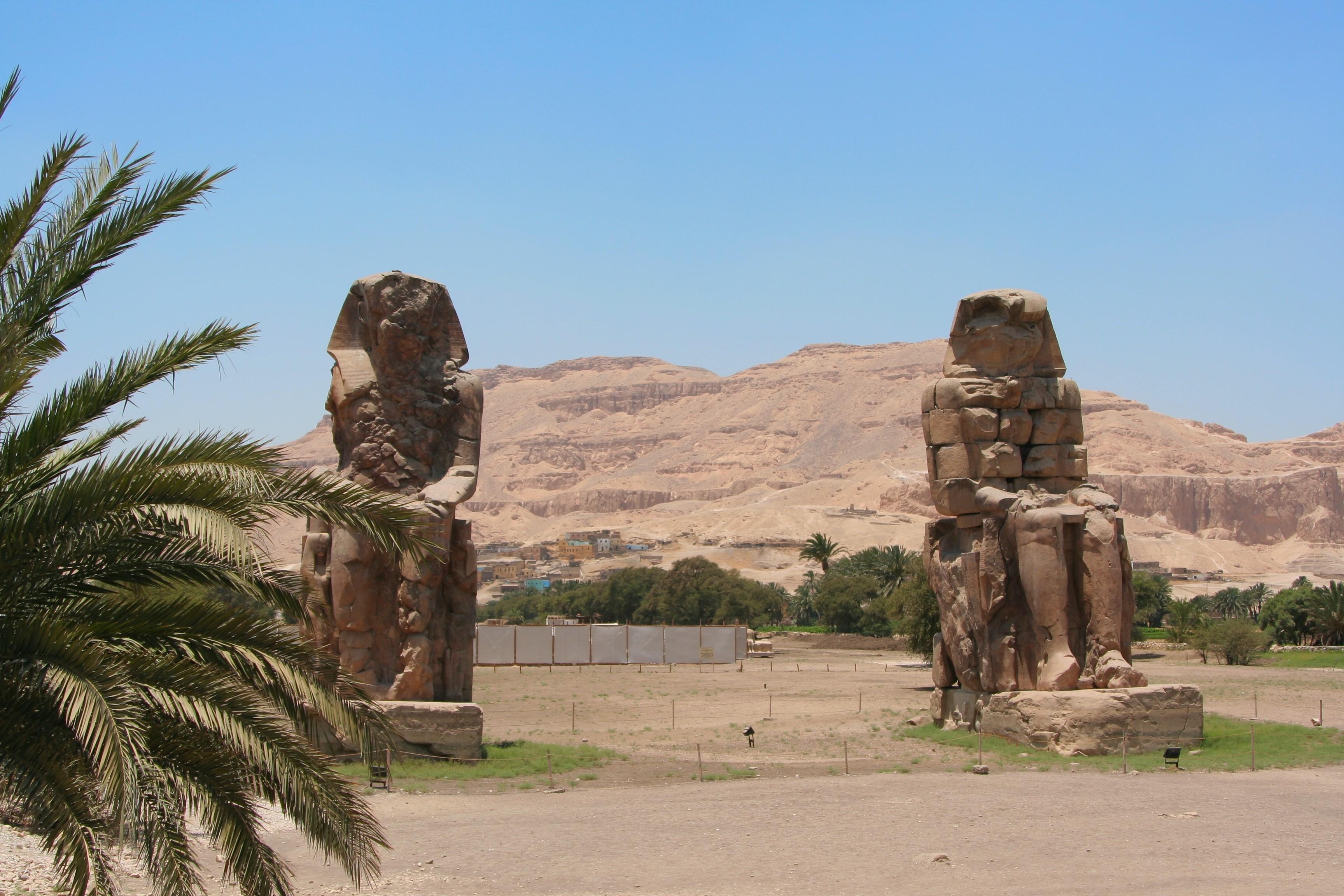 Memnon, Luxor