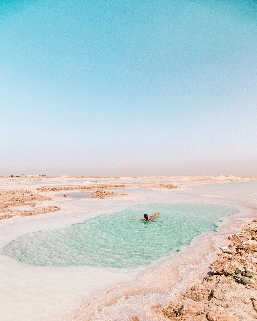 Salt lakkes-Siwa