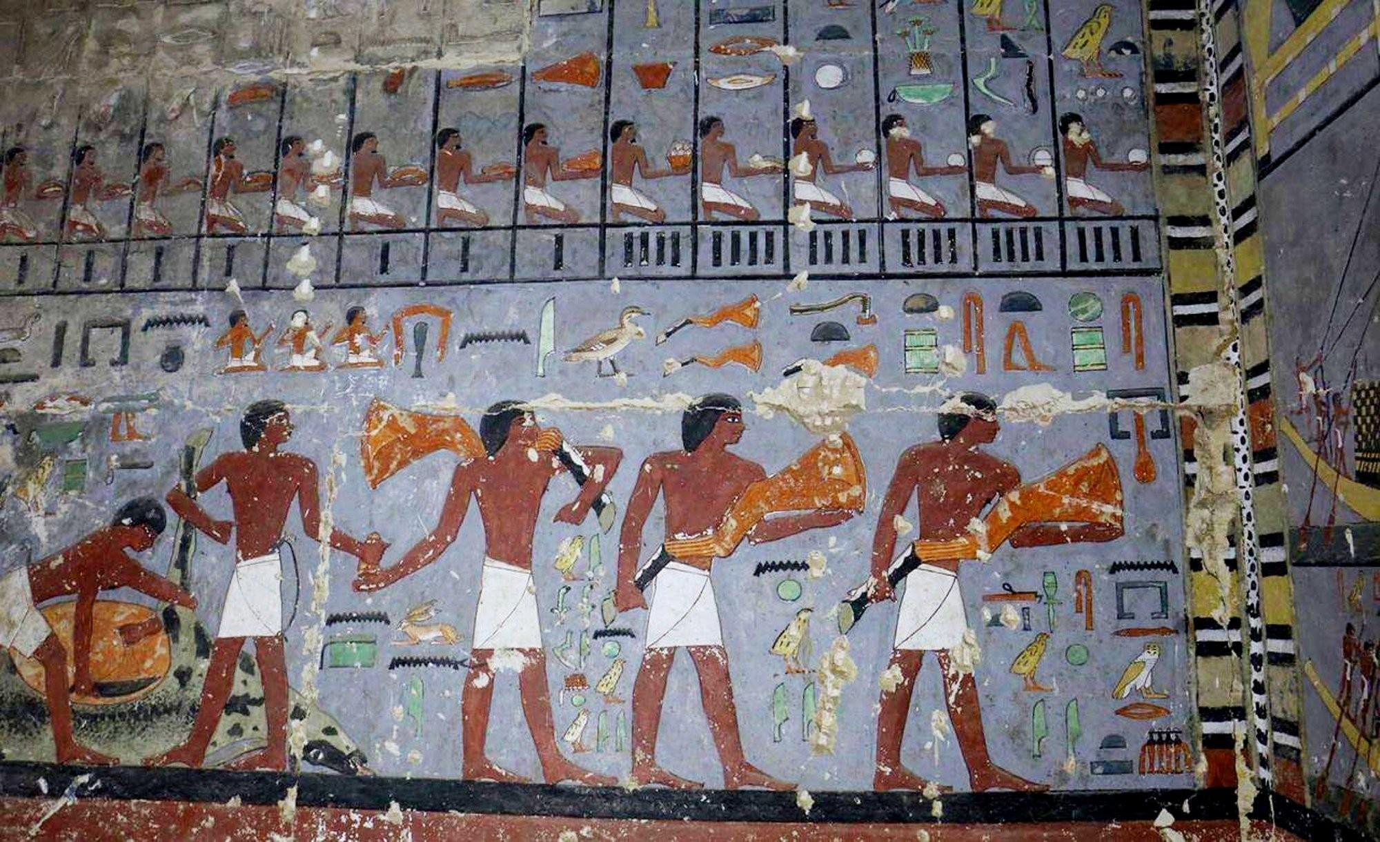 Tomb of Mehu -Saqqara