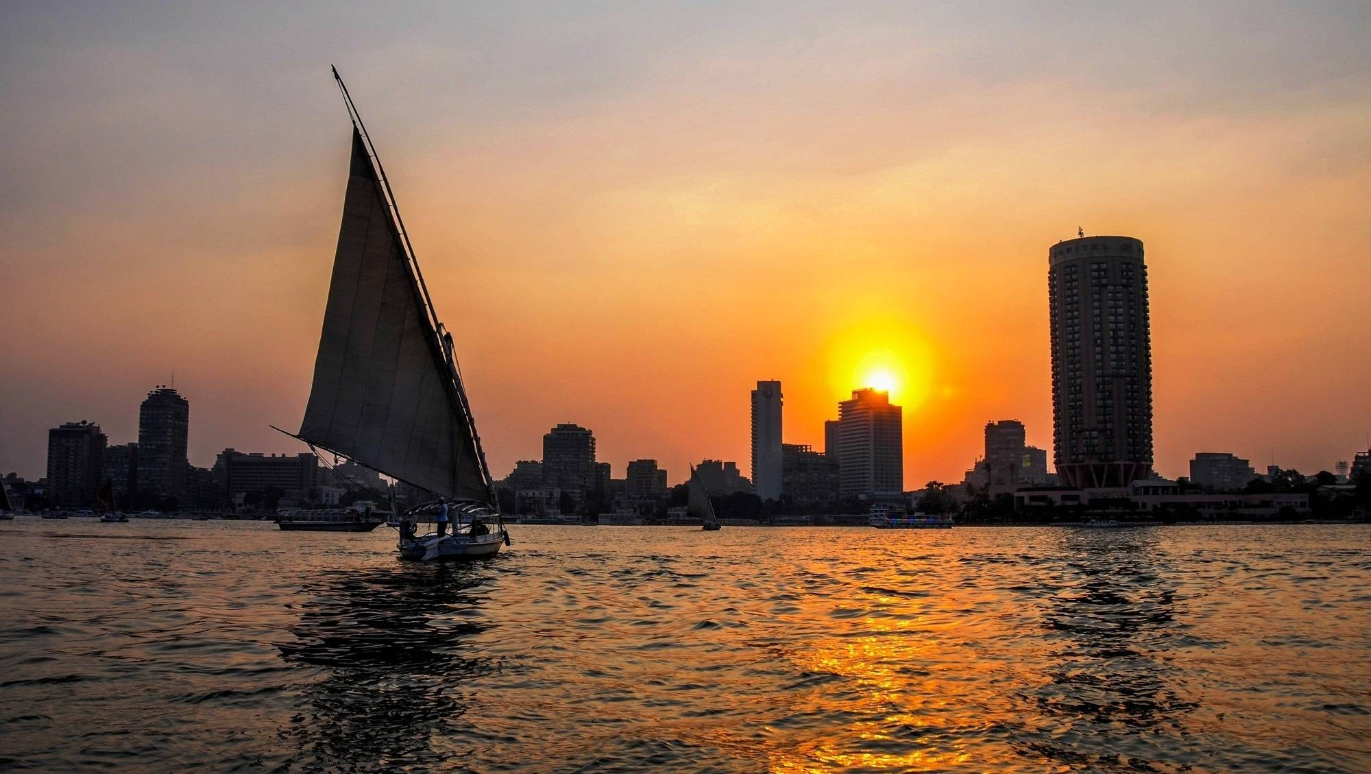 Felucca Ride on the Nile in Cairo