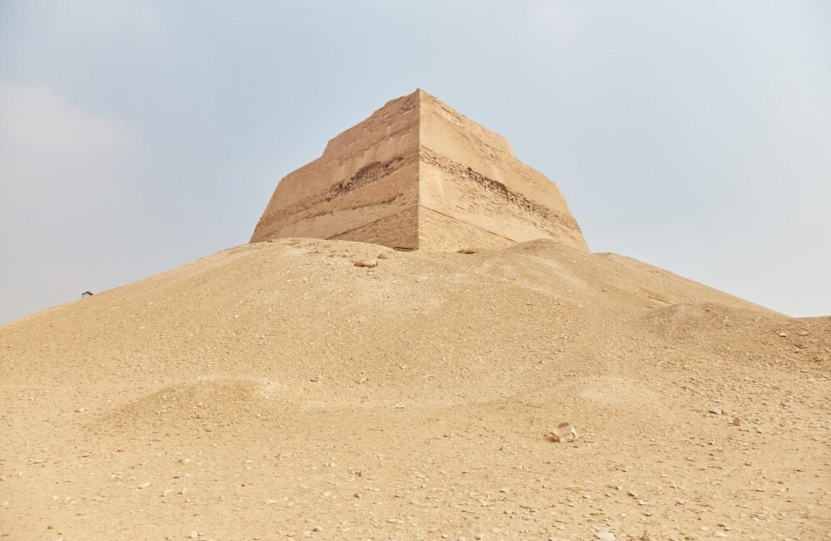 Meidum and Dahshur pyramids day tour