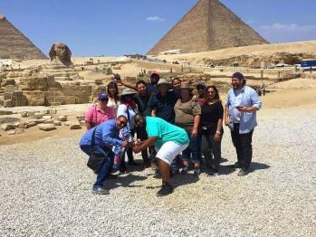 Group Tour at Giza Pyramids