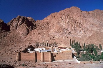 mount Sinai and monastery of St Catherine