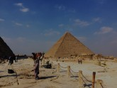 Giza Pyramids Sphinx and Sakkara Day Tour