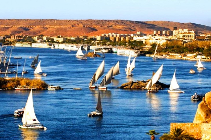 Aswan Nile River