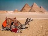 SunSet Camel Ride Tour Around Giza Pyramids