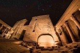 Sound And Light Show At Philae Temple In Aswan