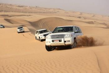 Dubai Deluxe Safari Tour From Abu Dhabi