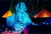 sound and light show Giza Pyramids