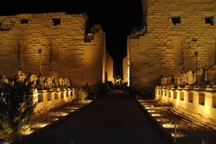 Luxor Temple, sound and light show
