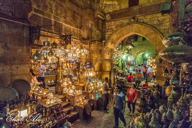 Khan El Khalili bazaars, Cairo