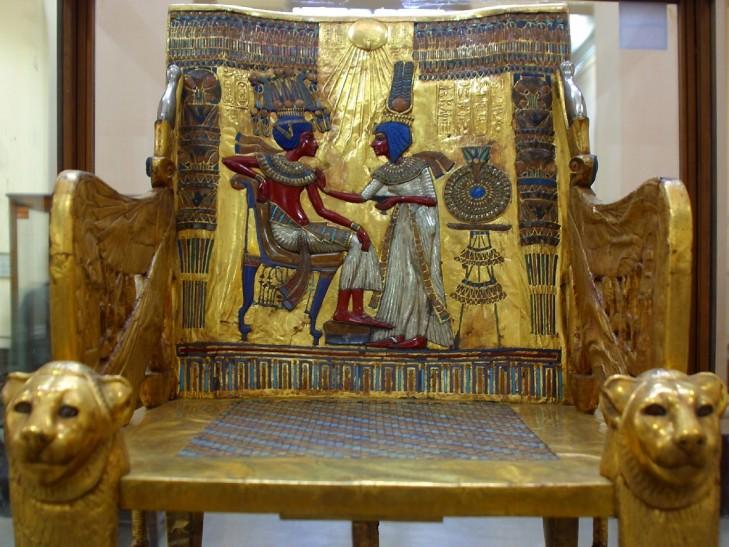 Throne of king Tut
