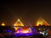 Giza Pyramids light show, Egypt tours winter Packages