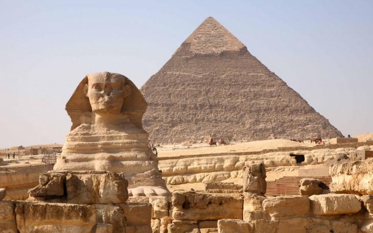 Giza Pyramids, Giza