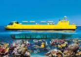 Sinbad Submarine tour under the Red Sea from Hurghada
